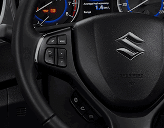 Leather steering wheel with switch audio control and bluetooth phone connection