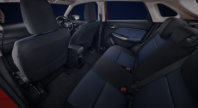 Spacious Cabin with New Seat Cover Color and Pattern