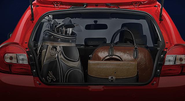 Spacious Luggage Capacity