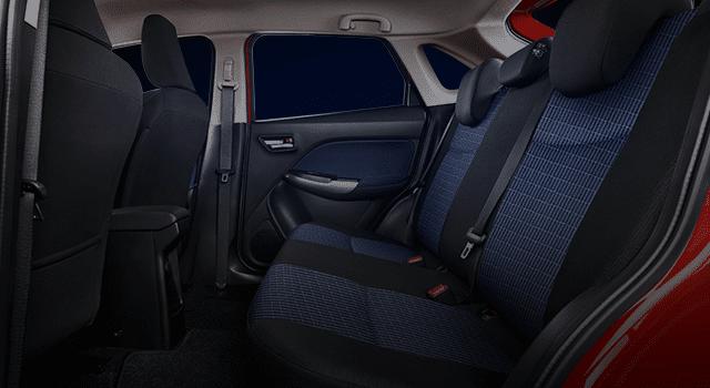 60:40 Rear Seatback