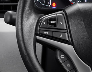 Steering Wheel Switch Control
